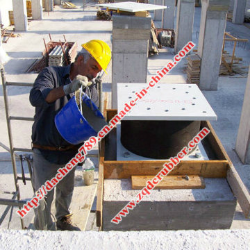 High Damping Rubber Bearings Isolation Device (Made in China)