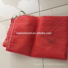 Top-Qualität PP Gemüse Mesh Taschen für Zwiebeln und Kartoffeln / Verpackung Obst und Gemüse mit OEM-Service
