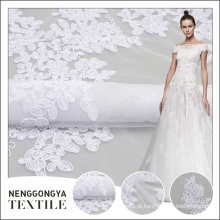 Tecido de bordado nupcial elegante popular profissional de alta qualidade em bangalore