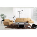 Leather cover section sofa for living room KW336