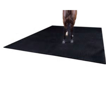 Rubber cow shed board