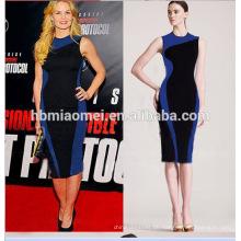 2017 neue Mode Vestido Patchwork Nettes Mädchen Plaid Bleistift Bodycon Damen Büro Tragen Sommer Kleid Frauen Casual Kleider Plus größe