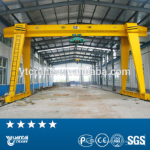 portique de levage utilisé monofaisceau chaîne électrique grue de 20 tonnes