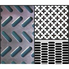 Rejilla de seguridad Perf-O Grip / Reja de tablones metálicos perforados