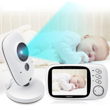 3.2+Inch+LCD+IR+Night+Vision+Baby+Monitor