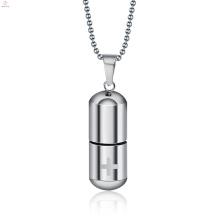 Souvenir Flasche Knochenasche Kapsel Anhänger Halskette