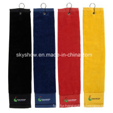 Good Quality Embroidered Golf Towel (SST1004)