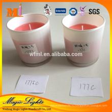 Столп форма и Тип ароматерапия ароматическая Свеча стеклянная чашка