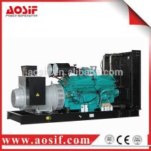 800KW / 1000KVA grupo electrógeno conjunto de precio con cummins KTA38-G5