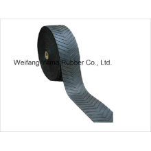 Chevron Conveyor Belt for Sand and Coal Powder Transmission