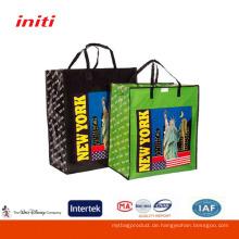 Umweltfreundlicher Qualitätsdruck Laminierter pp gewebter Einkaufstaschebeutel
