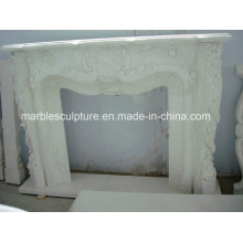 Factory Cheap Sale with Custom Sizes Marble Fireplace (SY-MF128)