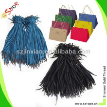 Paper bag with cotton rope handle