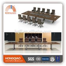 DT-08-1 MDF Besprechungstisch für 12 Personen Edelstahlrahmen für 6M Konferenztische zu verkaufen