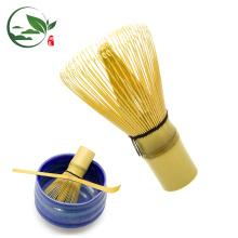 EM STOCK Bambu Matcha Whisk - Chá Verde Japonês em Pó Qualidade 80 pinos Whisks