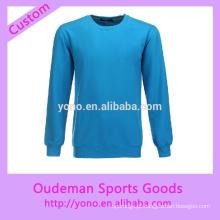 Camisa de futebol de manga comprida de primavera outono para treinamento