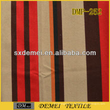 Полосатый диван холст ткани дешевые хлопок ткань тропических печать Китая