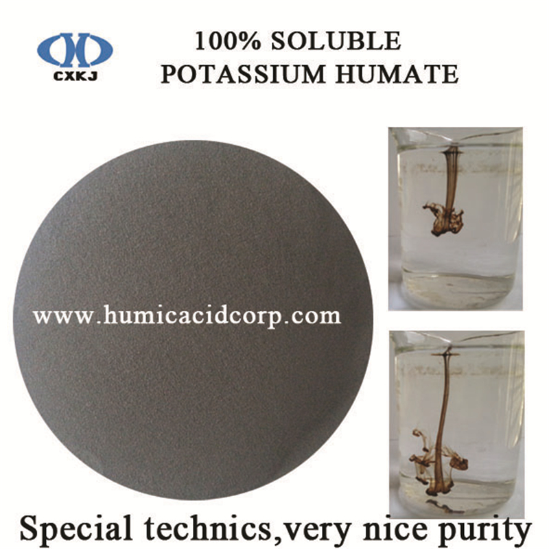 Humato de potasio 100% soluble