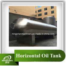 Tanque horizontal tanque de armazenamento líquido