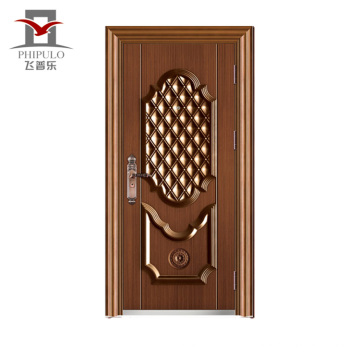 Sgs Qualidade-Assured Aceito Oem Steel Door Export