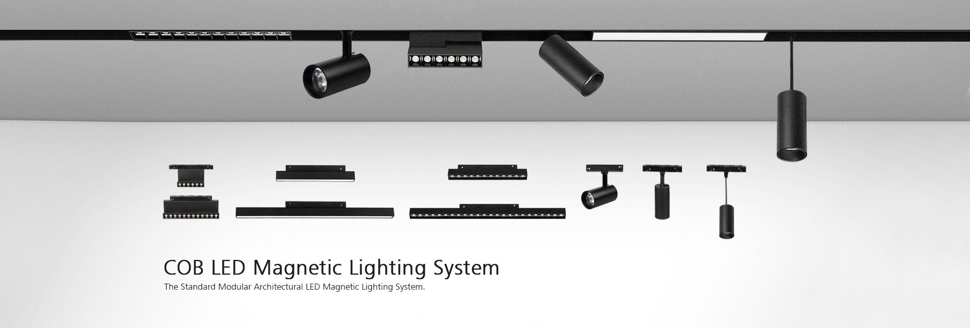 ceiling track light system
