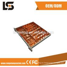 La presión a presión las piezas de la máquina del OEM de la fundición / de aluminio a presión la pieza de la fundición para el equipo de comunicación incluye