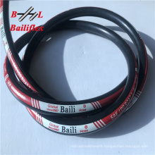 Factory price 2wire braid black smooth surface hydraulic rubber hoses