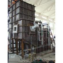 Fornalha de fusão centralizada contínua a gás natural