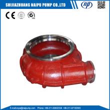 OEM Slurry Pump Weted End Parts Pump Back Liner Insert Volute Liner