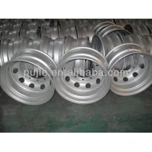 Hot Sale Tubeless Truck Steel Wheels Rims 22.5*8.25