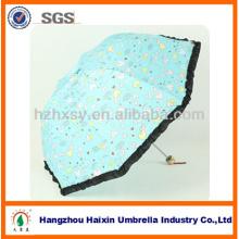 Parapluie de concepteur princesse de dames uniques de produits adapté aux besoins du client pour le cadeau de Noël