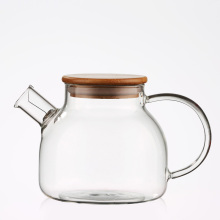 glass bottle borosilicate glass container china tea set glass tea pot and kettle set