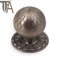Classical Gray Door Knob with Simple Pattern