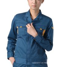 OEM Women Workwear Jacket Fashion Women Ropa de trabajo