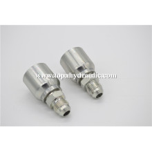 High pressure air pipe chrome one piece fitting