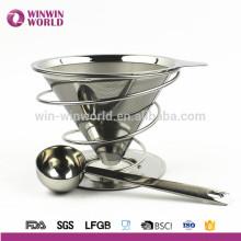 Neue Geschäftsideen perfekte Produkte FDA LFGB SS 304 Metall Kaffeefilter stehen