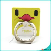 Tenedor de teléfono amarillo elegante del anillo del pato para los niños (SPH16041107)
