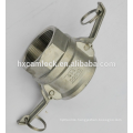 Stainless steel camlock manufacture, type A B C D E F DC DP made in china,