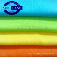 Matéria têxtil 100% de confecção de malhas da tela de trama do fio do poliéster 75D para o forro
