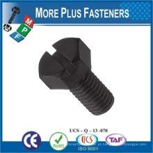 Feito em Taiwan Metric Thread Full Nylon Plastic Hexagon Screw