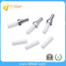 ST / SC / FC / LC / MU / MTRJ Optische Faser Zirkonoxid Ferrule