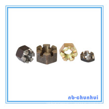 Hex Nut Hexagon Slotted Nut-7/8 ~ 3 ""