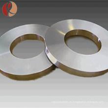 Venda quente ASTM B381 anel de titânio forjado industrial