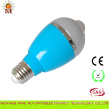 LED крытый Лампа светильник с датчиком движения 7ВТ