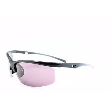 FDA Ce Certificated Semi-Rimless Sunglasses for Sports with Polarized Lenses-16304