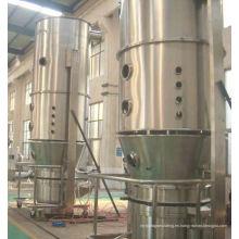 2017 LDP series Fluid bed coater, SS polvo en polvo fluidizer, material de flujo superior proceso de granulación en spray