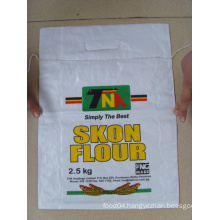 CH 2.5kg Colourful Printing sugar bag with Handle, PP woven Laminated bag