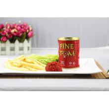 Tasty Canned 400g Tomato Paste of Fine Tom Brand