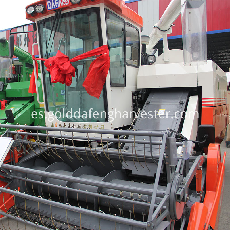 twenty experience factory multi-function rice harvester