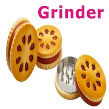 Grinder da erva daninha para o fumo seco da erva com estilo do biscoito (ES-GD-026)